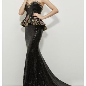 Angela and Alison dress evening gown